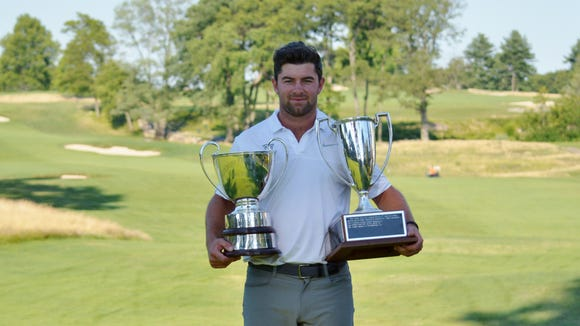 Young, a rising senior at Wake Forest, won by 12 shots and claimed the championship trophy and the low amateur trophy.