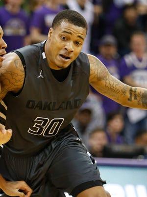 Oakland guard Sherron Dorsey-Walker