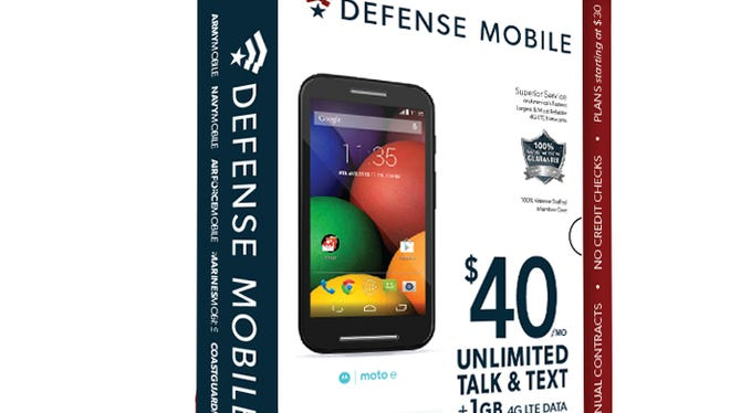 Defense Mobile says its about 30% to 40% cheaper on average than other wireless services