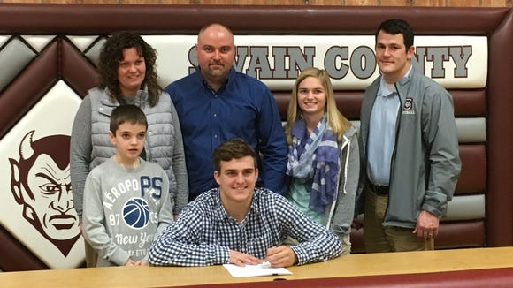 Swain County senior Jordan Cody has signed to play college football for Mars Hill.