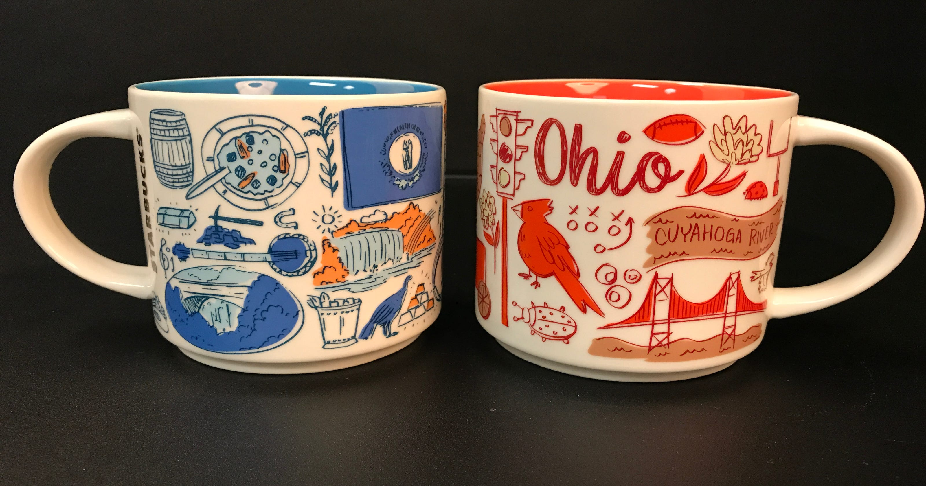 Starbucks Has New Ohio And Ky Mugs Which Is Your Favorite