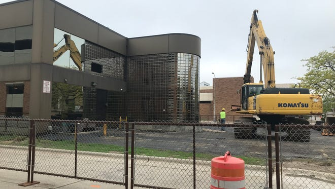 Former Menn Law Firm building in downtown Appleton has been torn down.