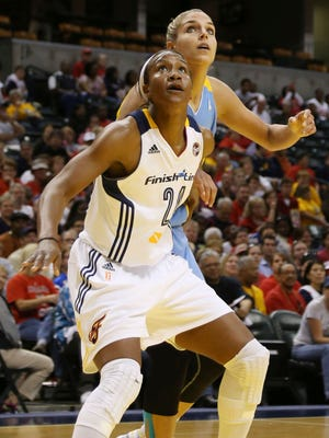 Tamika Catchings (24) is in the conversation for greatest women's player ever, while Elena Delle Donne could be in the future.
