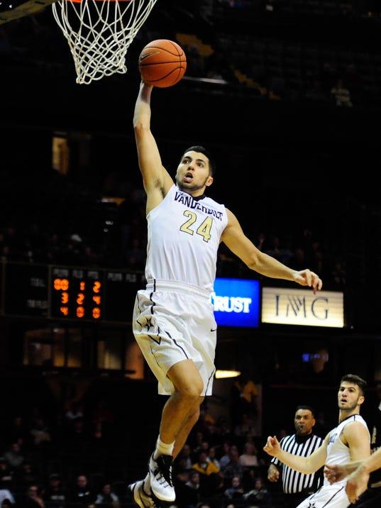 NCAA Basketball: Western Michigan at Vanderbilt