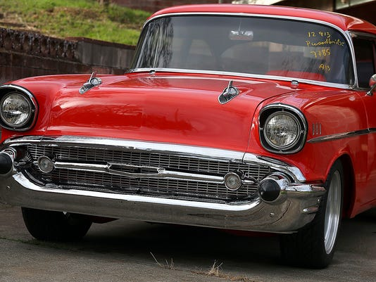 Stolen 57 Chevy Recovered 30 Years Later Restored
