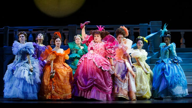 """""""Rodgers + Hammerstein's Cinderella"""" continues at TPAC through Sunday."""