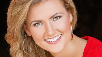 "Starting next week, 52 women will vie for the title of Miss America 2017. Ahead of the pageant's preliminary competition, we take a look at the contestants. First up? Miss Alabama Hayley Barber.  Talent: Tap dance.  Platform: Sight for Small Eyes €"" advocacy for comprehensive eye examinations at a young age, and fundraising for children with low vision."