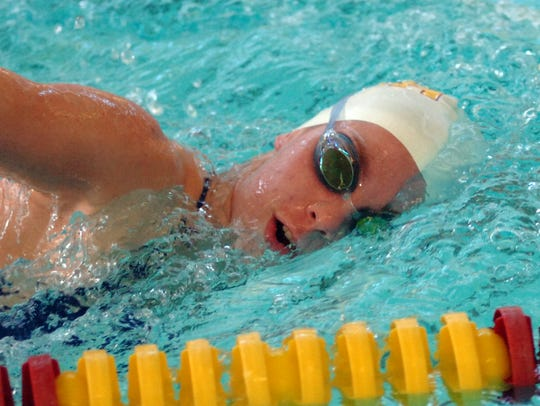 Mercy sophomore Annette Dombkowski was second in the