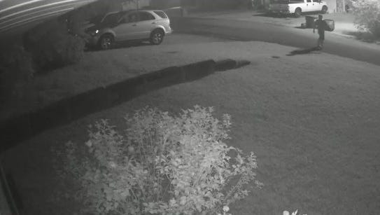The Lafayette Parish Sheriff's Office is searching for a suspect believed to be involved in several vehicle burglaries in Broussard.