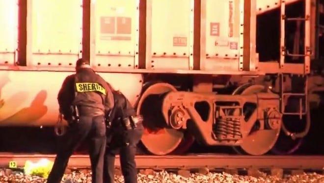 Woman killed by train near Wellington.