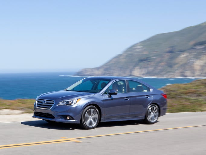 The 2015 Subaru Legacy -- not much to buzz about,.