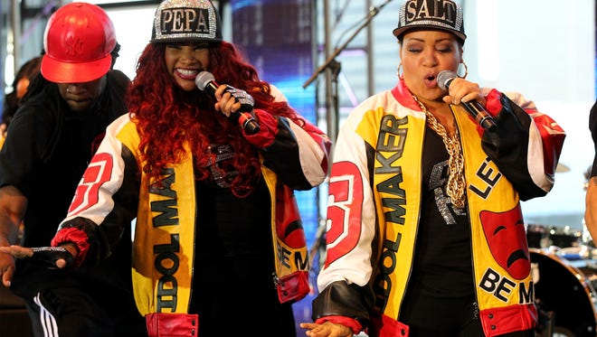 """Are you ready to """"Push It""""? Salt-N-Pepa will break out their hits for the I Love the '90s Tour on Oct. 13 at the Resch Center in Ashwaubenon."""