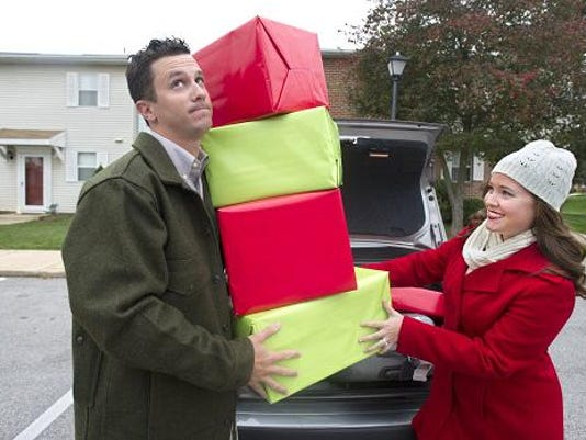 File photo: Josh and Selena Young of Red Lion have family in the area, so they don't have to travel far with holiday gifts.