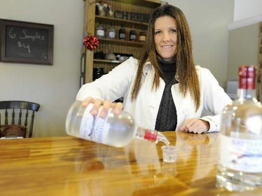 Old Republic Distillery plans to move its distillery and tasting room to North York, said co-owner Denise Mathias, pictured above in this 2014 file photo.