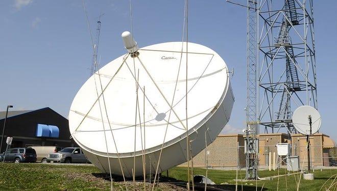 The National Weather Service office in Ashwaubenon.