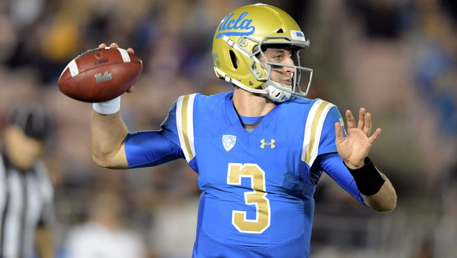 UCLA has not responded to a report that Josh Rosen will sit out UCLA's appearance in the Cactus Bowl.