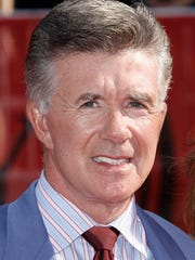 FILE - In this Wednesday July 16, 2008 file photo, Alan Thicke arrives at the ESPYs Awards in Los Angeles. On Tuesday, Dec. 13, 2016, A publicist said the actor has died at the age of 69.