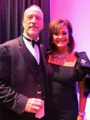 Morris Nichols and Waynette Ballengee at Las Vegas