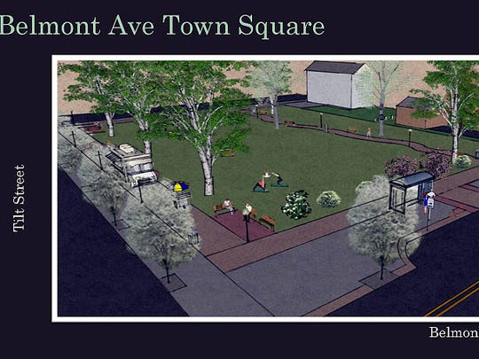The design plan that Haledon officials would like to see modified to be more friendly to businesses.