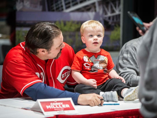 Cincinnati Reds fans young and old were able to meet