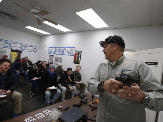 Concealed Carry Classes See Big Push For Licenses