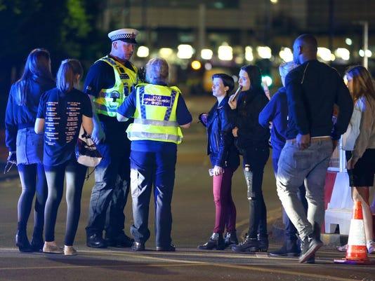 Ariana Grande Manchester Arena explosion