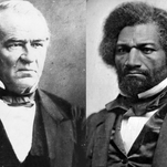 Frederick Douglass, right, met with President Andrew Johnson and encouraged him to grant to vote to those freed from slavery. Johnson refused.