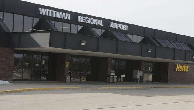 Wittman Regional Airport terminal on Feb. 15, 2017.