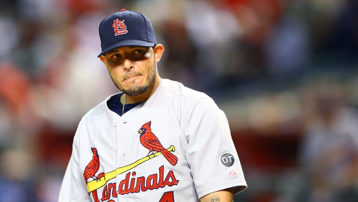 Yadier Molina will be out a minimum of 10 days.