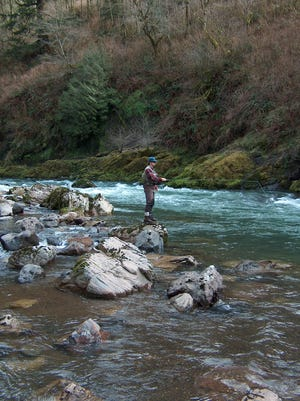 Perfect flows are a rarity, but worth watching for, on Oregon coastal rivers.