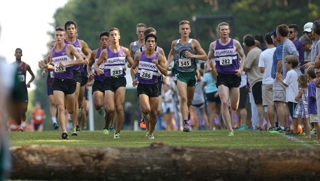 Furman's running program recently received a $1 million donation from longtime supporters Chris and Andrea Borch.