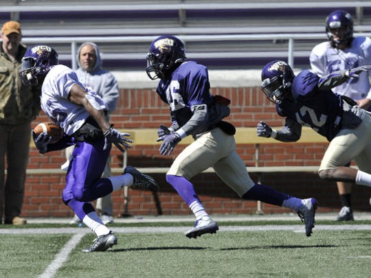 The Western Carolina University football team held