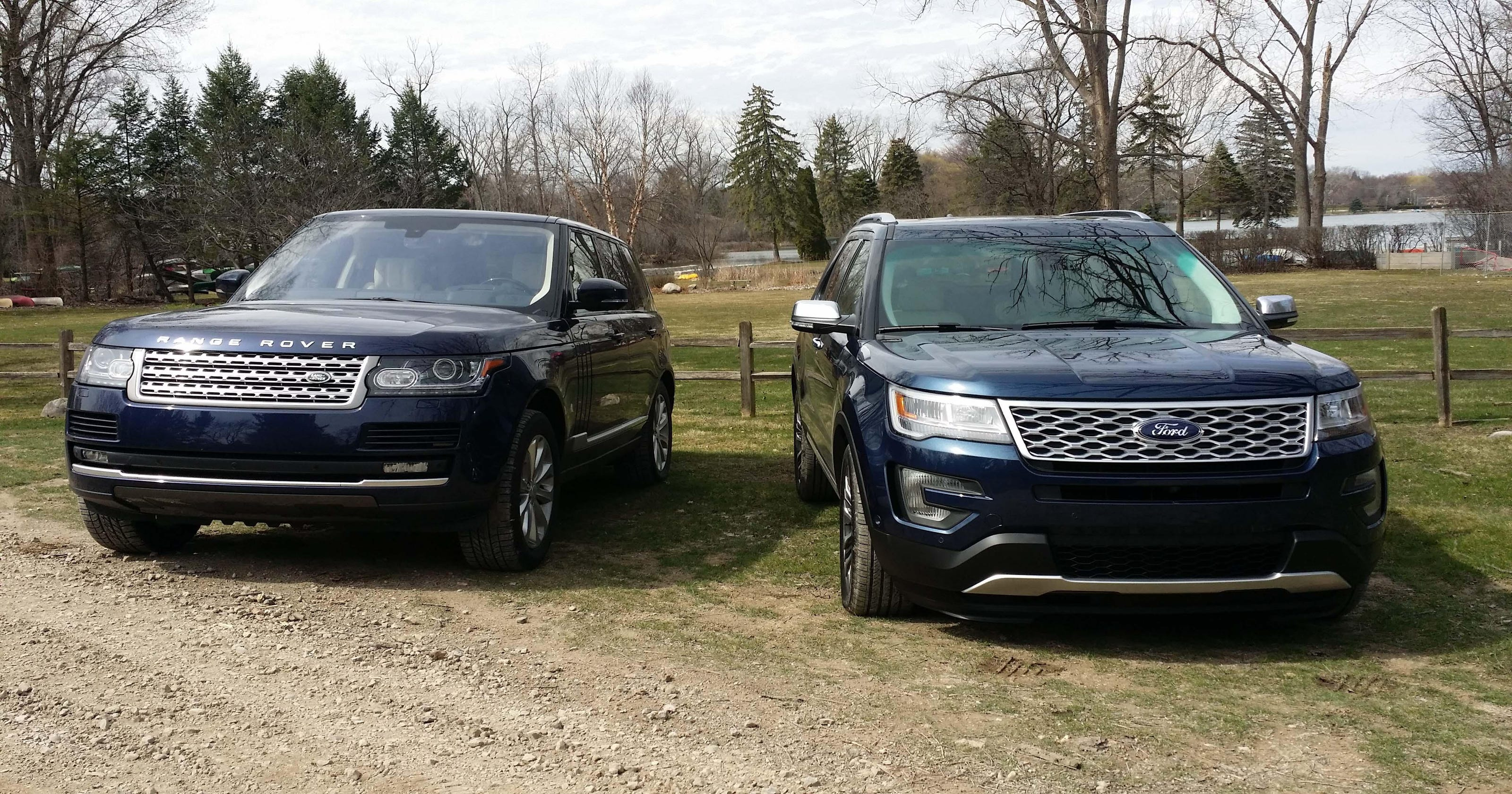 Range Rover Vs Explorer Platinum