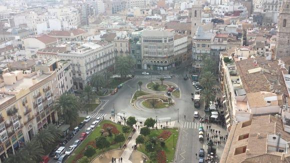 Plaza de la Reina in Valencia, Spain. (Courtesy of Gabe Cavallaro)