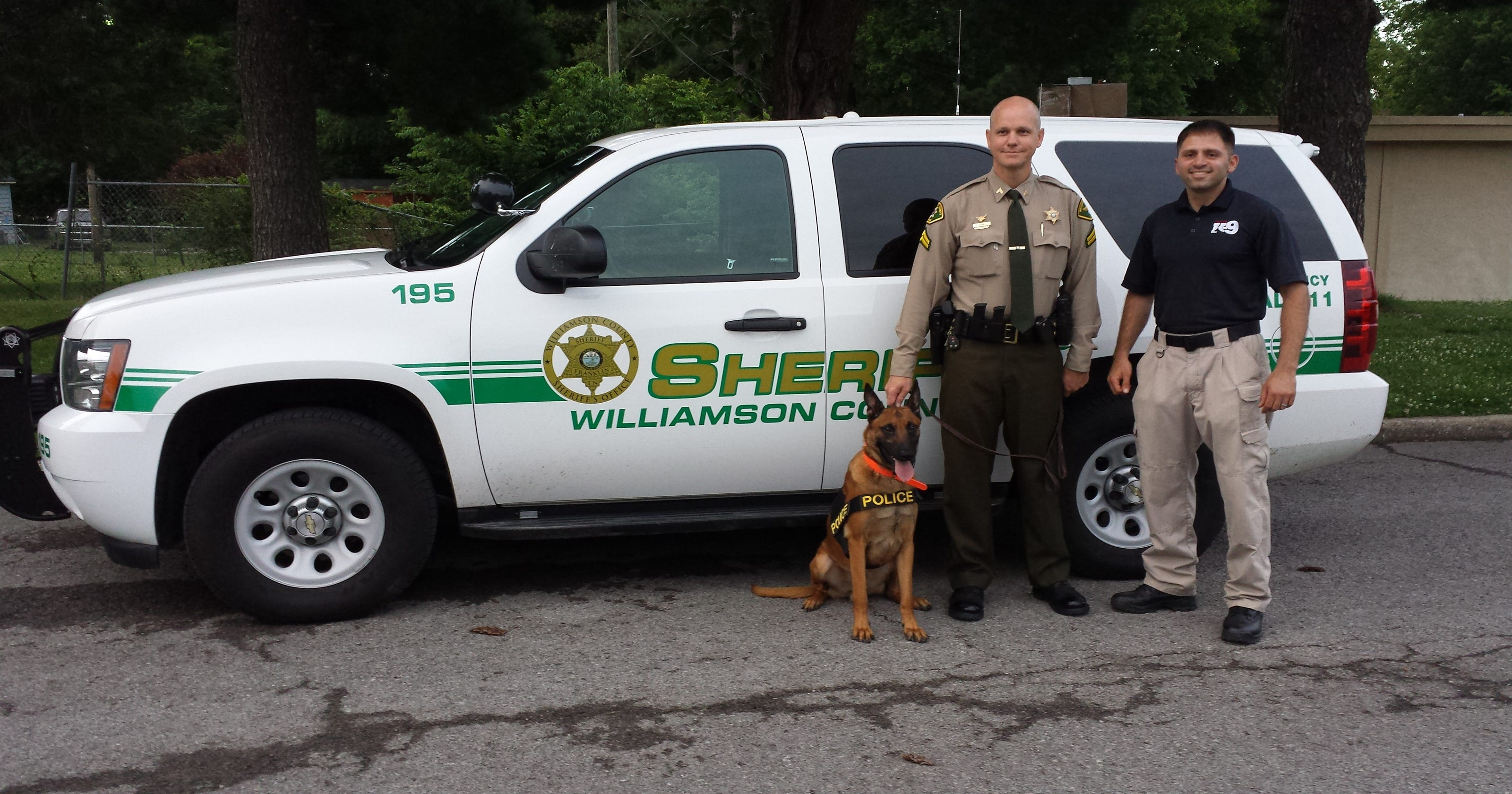 K-9 deputy Ammo joins Williamson County Sheriff's Office