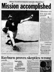 The sports front page from June 14, 2008 documents