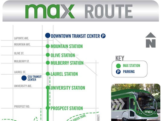 Map Max Transit Route