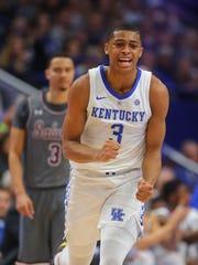 Nov 9, 2018; Lexington, KY, USA; Kentucky Wildcats