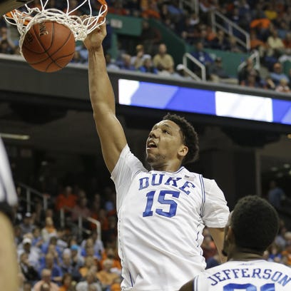 Duke's Jahlil Okafor could be the No. 1 pick in June's