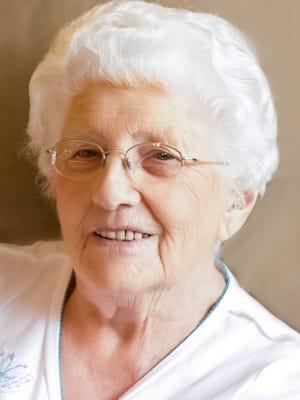 Laura E. Hall, 97