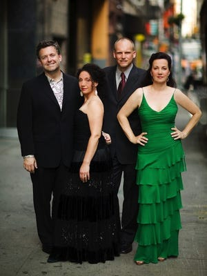 The vocal group New York Voices will perform next week in Horseheads.