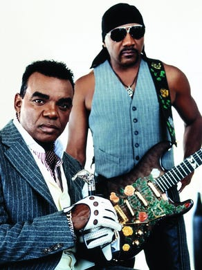 Ronald and Ernie Isley of the Isley Brothers