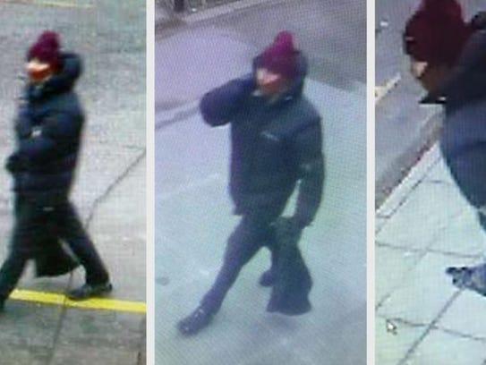 Copenhagen police released surveillance photos of a
