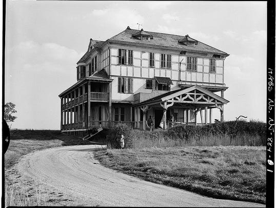 The Long Branch beachfront cottage where Ulysses Grant spent summers during his presidency.