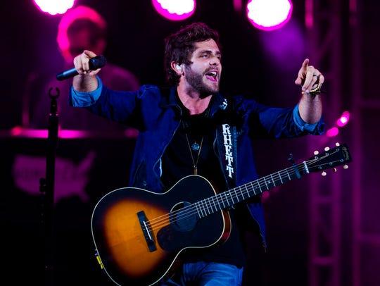 Thomas Rhett, the iHeart Music Awards winner of Country