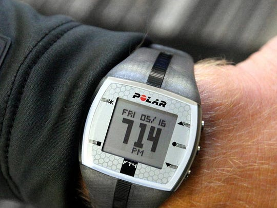 A POLAR watch.