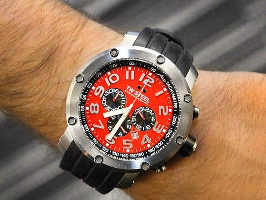 The T.W. Steel watch.
