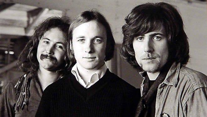 From left: David Crosby, Stephen Stills and Graham Nash.