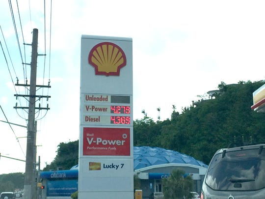 Gas prices as posted on June 12.
