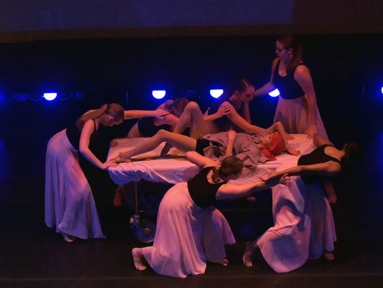 Vortex Dance Company produced 'I'm in Here' in 2016